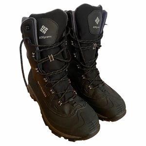 Columbia Bugaboot XTM SZ 12 Black Snow Boots